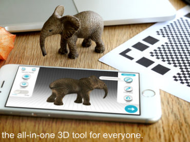 Qlone can transform your smartphone/tablet into a 3D scanner