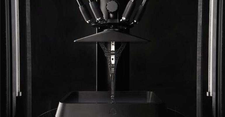 A hint of Layer One's Atom 3: the 3D Printer that combines SLA and FDM