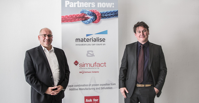 Materialise and Simufact announce an OEM license agreement for Metal AM Workflow