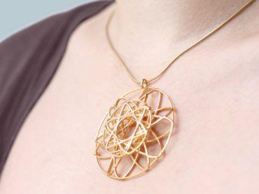 Cette ligne de bijoux personnalisés imprimés 3D vous rappellera votre journée spéciale