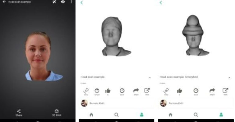 MyMini Factory enables 3D printer owners to easily share from SONY's 3D Creator scanning app