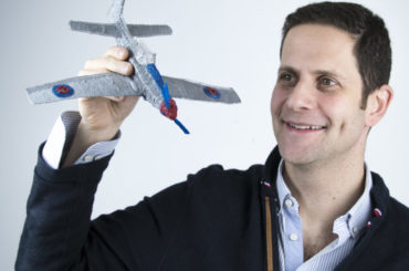 "Daniel Cowen, CEO and founder of 3Doodler: ""And I also wouldn't say that we are trying to replace a 3D printer which also has different uses but both can be used together."""