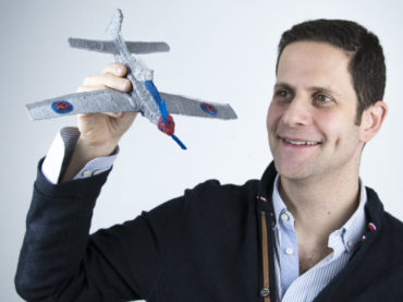 """Daniel Cowen, CEO and founder of 3Doodler: """"And I also wouldn't say that we are trying to replace a 3D printer which also has different uses but both can be used together."""""""