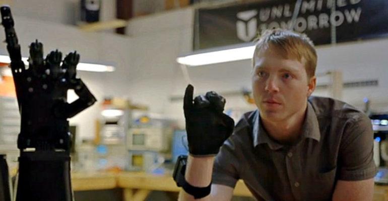 Stratasys, Dassault Systèmes et Easton LaChappelle : une collaboration pour des bras imprimés en 3D