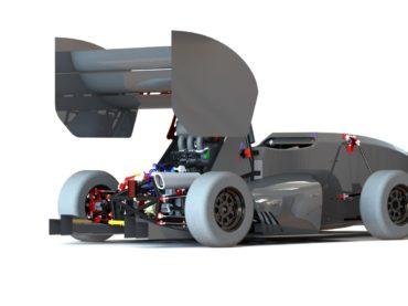 Spartacus3D et l'Estaca : un monoplace fabriqué avec l'impression 3D