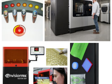 News Round Up: Stratasys, EnvisionTEC, Optomec, Glowforge and MakerGear at Rapid+TCT