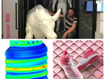 L'actualité de l'impression 3D en bref : Digital Dot, Ansys, les chaussures de volleyball imprimées en 3D de Peak