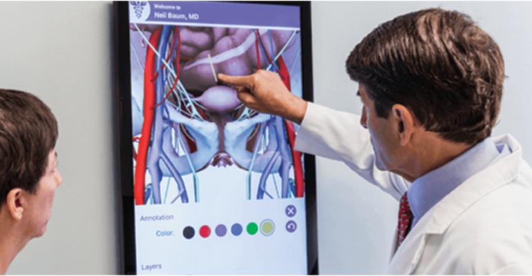 Les rendus anatomiques 3D de Outcome Health facilitent la consultation des femmes