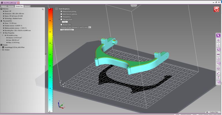 4D_Additive ensures the preparation of models and their production by 3D printing