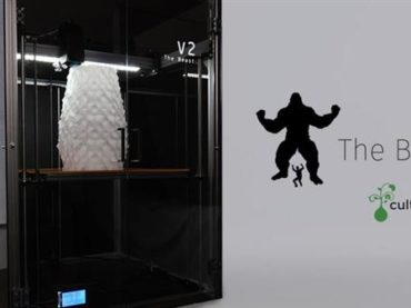 cultivate3d lance l'imprimante 3D Beast V2 sur Kickstarter