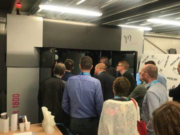 Les premiers pas des systèmes d'impression 3D de Massivit 3D en Belgique !