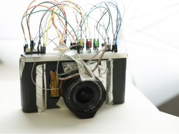 Lex 3D printed camera: a combination of Sony Lenses and traditional 35 mm film