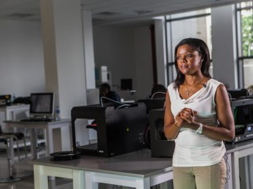 """Interview – Njideka Harry, President of @YouthForTech: """"Talent is universal but opportunity is not; [ hence the need to grasp the opportunity offered by #3dprinting]"""""""