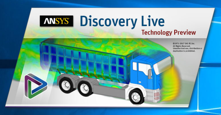 Discovery Live, a solution that combines both 3D CAD and engineering simulation