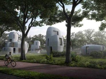 Eindhoven accueillera cinq maisons en béton imprimées 3D