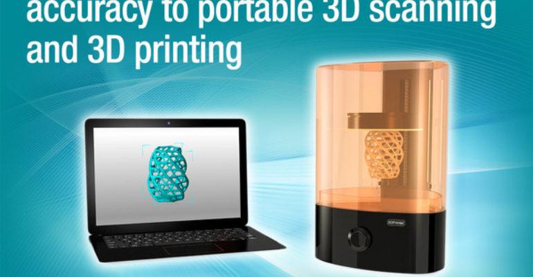 La technologie DLP offre des capacités de contrôle de lumière pour les scanners 3D et les imprimantes 3D