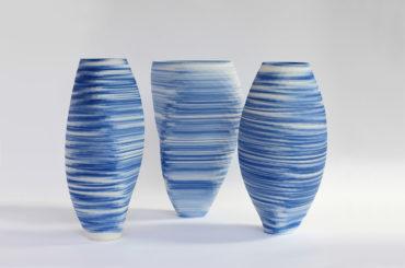 « Blue and White », la nouvelle collection de porcelaine imprimée 3D d'Olivier Van Herpt