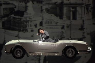 Une réplique grandeur nature imprimée en 3D de la Lancia B24 pour l'opéra Don Pasquale