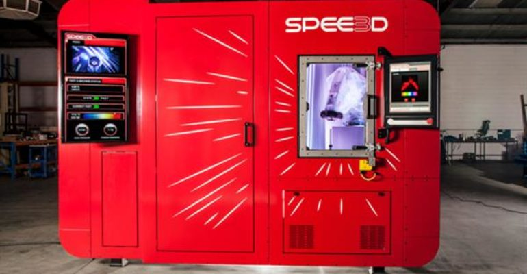 SPEE3D's technology is now part of FIT Additive Manufacturing Group's technologies