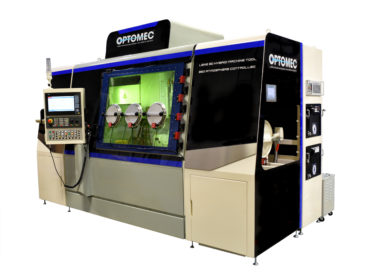 Optomec integrates hybrid machining in its new large format and low-cost metal 3D printer