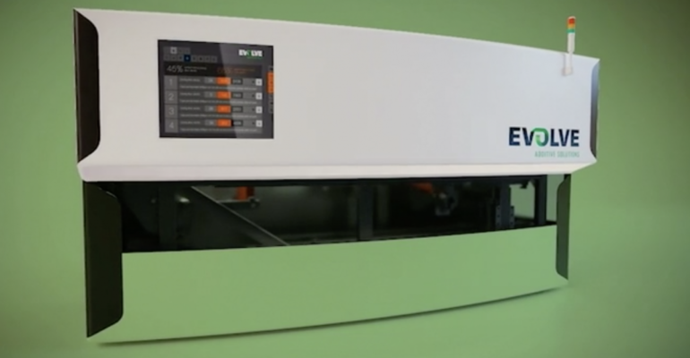 $19M Equity Investment to push Evolve's STEP additive manufacturing technology forward