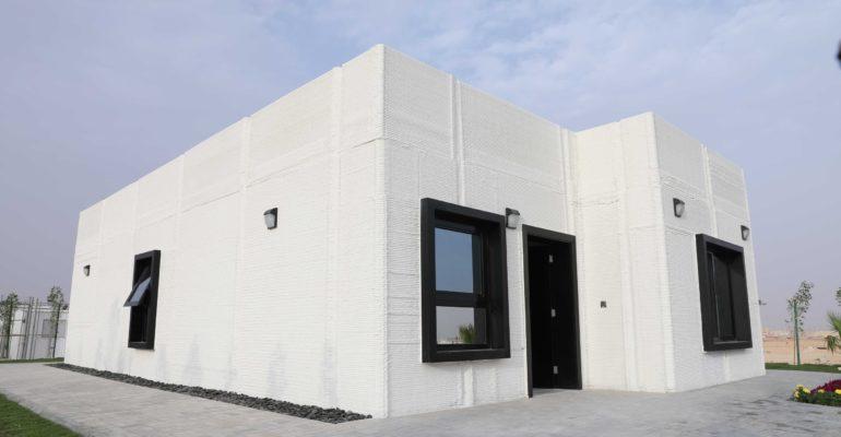 Première approche de la production en série de maisons imprimées en 3D en Arabie Saoudite