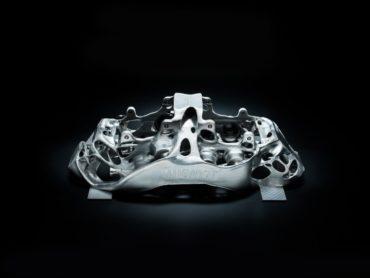 Vidéo : Bugatti teste le premier étrier de frein en titane imprimé 3D au monde