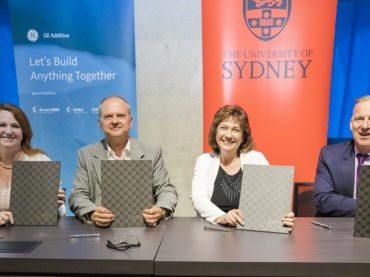 GE Additive reaches new heights: a ten-year agreement with University of Sydney to develop metal AM