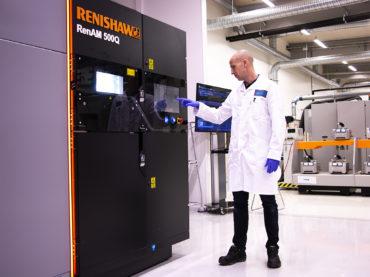 SANDVIK a choisi les systèmes de fabrication additive de Renishaw pour le développement des matériaux, le processus de FA et le post-traitement