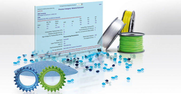 The UL Blue Card enables recognition & certification of 3D Printing materials
