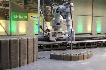 Eindhoven accueille la première usine industrielle d'impression 3D de béton