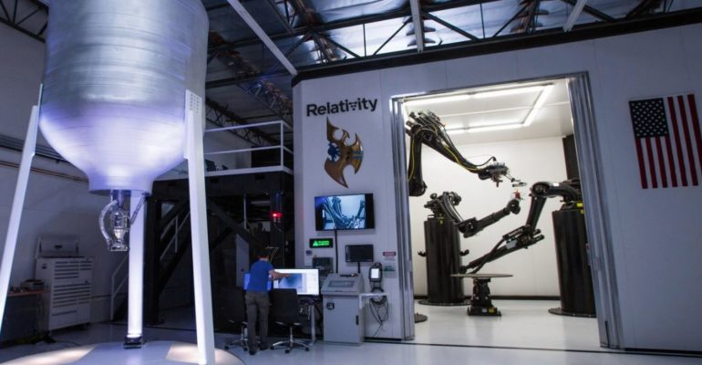 Relativity appoints 3 aerospace veterans to its executive team – was granted patent for its 3D Printing technology