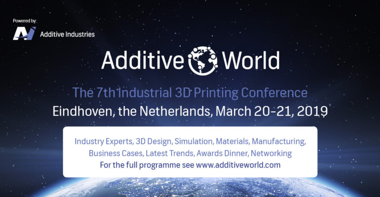 What can we expect from Additive World Conference 7th edition?