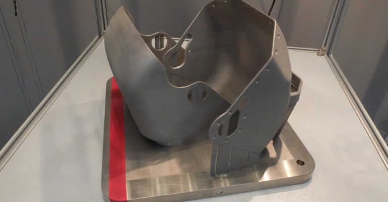 BAE Systems relies on Simufact Additive software for simulation of metal AM parts