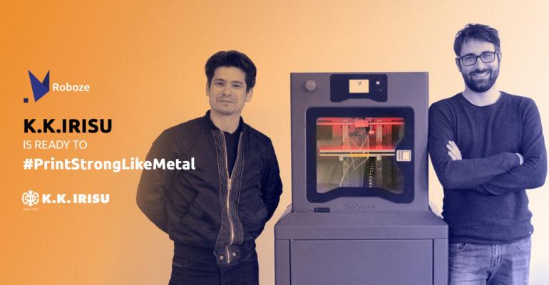 Le Japon, un autre jalon dans l'aventure de fabrication additive de Roboze