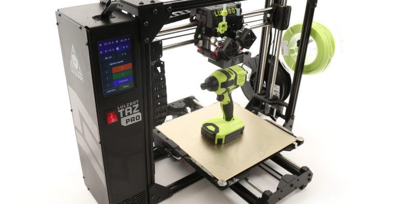 Aleph Objects launches LulzBot TAZ Pro, a desktop 3D Printer
