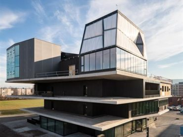 """Built digitally to """"live digitally"""": DFAB House required the use of robots and 3D printers in its construction"""