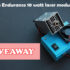Giveaway: A laser attachment for your 3D Printer or your CNC Machine