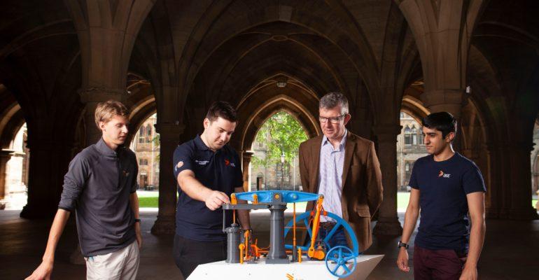 La impresión 3D le da nueva vida a un modelo impreso en 3D de la máquina de vapor Boulto-Watt